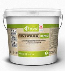 Лак Лак Uniwood Паркет В-ПУ-201 (5л)