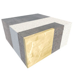 Блок строительный Теплоблок Угловой внутренний БУВ 400.200.400 (М200,15)