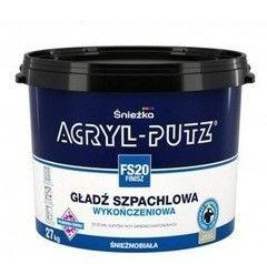 Шпатлевка Шпатлевка Sniezka Acryl-Putz FS20 Финиш 8 кг