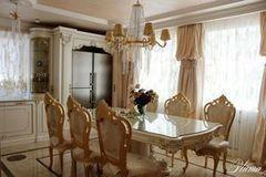 Дизайн квартир и коттеджей Плума Кухня-столовая в стиле барокко