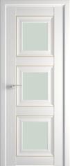Межкомнатная дверь Раздвижные двери ProfilDoors 97U Аляска матовый золото