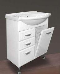 Мебель для ванной комнаты MISTY Тумба с раковиной Дрея 65 (с 2 ящиками)