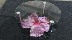 Журнальный столик Valtera из закаленного стекла 8мм с УФ печатью