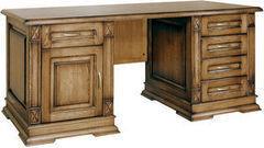 Письменный стол Пинскдрев Верди 7 П106.12 (слоновая кость с патинированием)