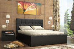 Кровать Кровать Stolline Находка Real black 160x200