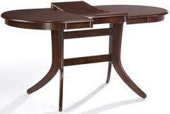 Обеденный стол Обеденный стол Avanti Gavana 120-153 (темный орех)