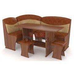 Кухонный уголок, диван Red&Black Консул-2