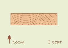 Доска обрезная Доска обрезная Сосна 32*125 мм, 3 сорт