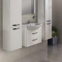 Мебель для ванной комнаты Акватон Тумба Ария 65 М белая