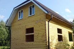 Строительство домов Строительство домов WoodHata F-D-08