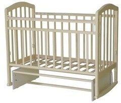 Детская кровать Кроватка Антел Алита-3 (слоновая кость)
