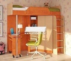 Двухъярусная кровать СтолПлит Арт-Манго СВ-59 правый