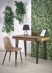 Письменный стол Halmar B39 (орех медовый/черный)