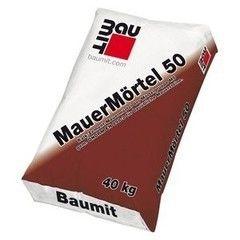 Сухая кладочная смесь Сухая кладочная смесь Baumit MauerMortel 50