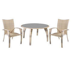 Комплект мебели из ротанга Garden4you WICKER 12707, 12708 (стол и 4 стула)