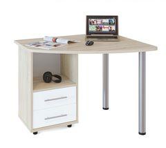 Письменный стол Стол компьютерный Сокол-Мебель КСТ-102Л (дуб сонома/белый)