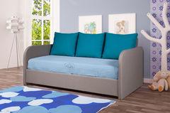 Детская кровать Детская кровать Vegas Локи (80x190) текстиль, серый