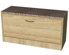 Тумба для обуви Мебель-Класс ВА-012.8 (дуб сонома)