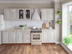 Кухня Кухня Артем-мебель Оля Элегия дуб пепельный 2м
