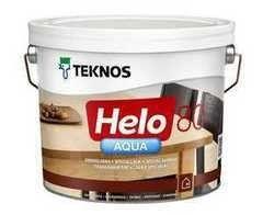 Лак Лак Teknos Helo Aqua 80 (9 л)