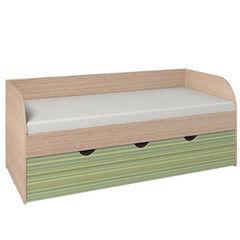 Детская кровать Детская кровать Глазовская мебельная фабрика Калейдоскоп 5 (Зеленая Радуга)