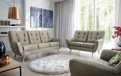Набор мягкой мебели Набор мягкой мебели Gala Collezione Scandi 3+2 в ткани