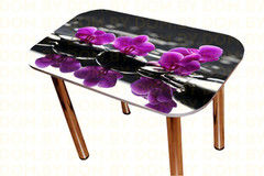 Обеденный стол Обеденный стол Мебельный конструктор Цветы Модель 10