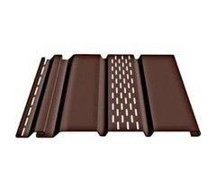 Софит Docke T4-Soffit Шоколад (с центральной перфорацией)