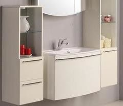 Мебель для ванной комнаты Акватон Полуколонна подвесная Севилья (1A126703SEG30) белый жемчуг