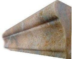 Плитка из камня A&B Stone Бордюр Rainbow Red 30.5x6 HM305-SR1-023