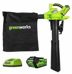 Воздуходувка Воздуходувка Greenworks GD40BVK4