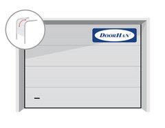 DoorHan RSD01 2500x2125 секционные, микроволна, авт.