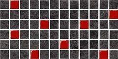 Плитка Плитка Opoczno Karoo graphite glass mosaic 14.7x29.7