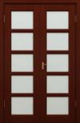 Межкомнатная дверь Межкомнатная дверь из массива Ока Премьер (ДО, двустворчатая)