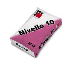 Стяжка пола Стяжка пола Baumit Baumacol Nivello 10