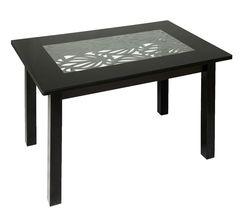 Обеденный стол Обеденный стол Red&Black Ажур квадро (С-30)