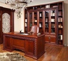 Письменный стол Гомельдрев Галеон ГМ 1442 (дуб/ коньяк)