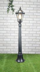 Уличное освещение Elektrostandard Capella F черный