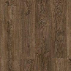 Виниловая плитка ПВХ Виниловая плитка ПВХ Quick-Step Livyn Balance Click BACL40027 Дуб коттедж темно-коричневый
