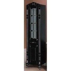 Мебель для ванной комнаты Атолл Шкаф Александрия 85 черный