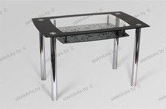 Обеденный стол Обеденный стол Стеклолюкс С 28-01 Орфей