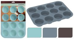 La Cucina Форма для выпечки кексов, 3 цвета