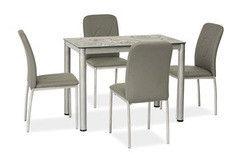 Обеденный стол Обеденный стол Signal Damar (серый) 100