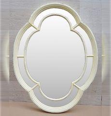 Зеркало Онсет Мариан 80x103 (слоновая кость, шелк, шебби)