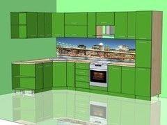 Кухня Кухня Сапёрмебель Пример 1