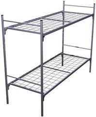 Двухъярусная кровать Европротект 2КС-3 металлическая усиленная (80x190см)