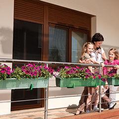 Роллеты Alutech Рольставни на балкон (система окно + дверь)