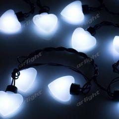 Декоративная светотехника Гирлянда Arlight Гирлянда ARL-HEART-5000-20LED White (220V, 5W)