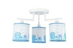 Детский светильник Donolux C110055/3white frame + Shade B elephant X С55/x