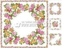 Ткани, текстиль Шуйские Ситцы Ситец 80 платочный №71751